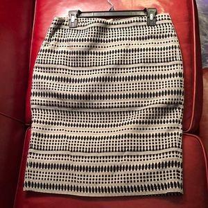 Ann Taylor Loft skirt pencil skirt size 8